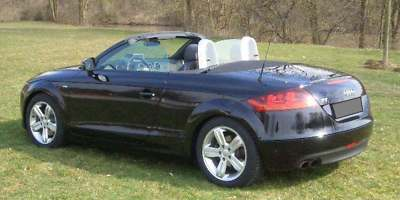 lhd car AUDI TT (01/2008) - Black - lieu: