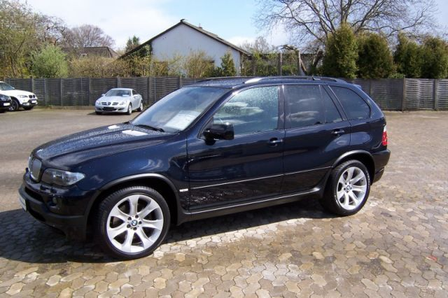 Lhd Bmw X5 03 2007 Metallic Carbon Black Lieu