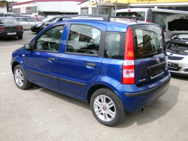 fiat panda 03 2008 metallic blue lieu. Black Bedroom Furniture Sets. Home Design Ideas
