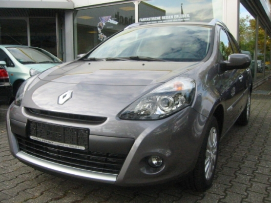 lhd renault clio 11 2009 metallic steel grey lieu. Black Bedroom Furniture Sets. Home Design Ideas