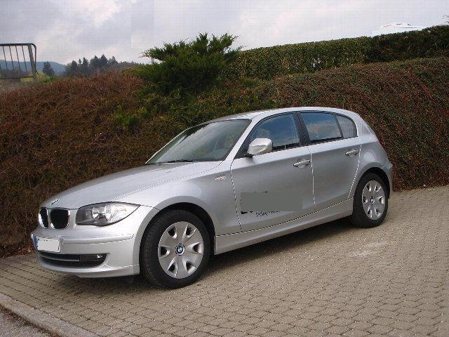 lhd bmw 1 series 01 2010 metallic titan silver lieu. Black Bedroom Furniture Sets. Home Design Ideas