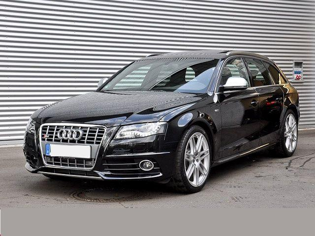 Lhd Audi S4 03 2010 Metallic Phantom Black Lieu