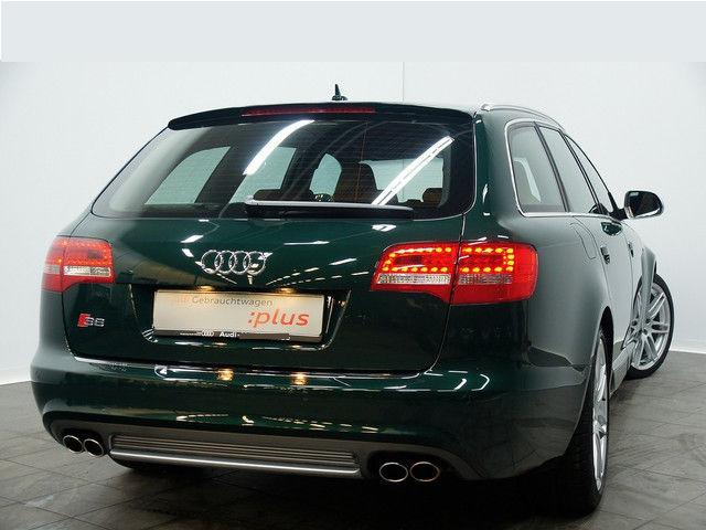lhd car AUDI S6 (03/2009) - Metallic Monterrey Green - lieu: