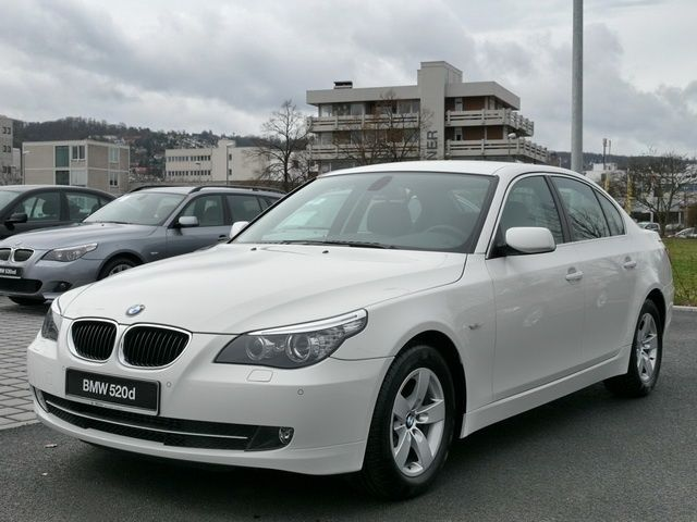 lhd bmw 5 series 06 2009 alpine white lieu. Black Bedroom Furniture Sets. Home Design Ideas