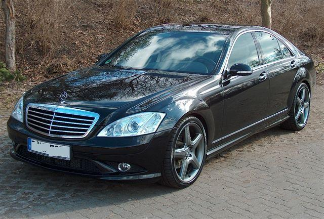 Lhd mercedes s class 05 2009 metallic obsidian black for 2009 mercedes benz s550 amg
