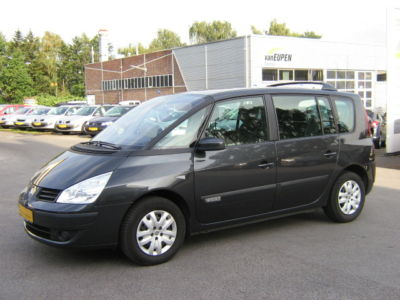 lhd renault espace 08 2007 metallic graphite black lieu. Black Bedroom Furniture Sets. Home Design Ideas