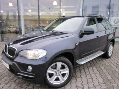 BMW X5 (12/2008) - Metallic Monaco Blue - lieu: