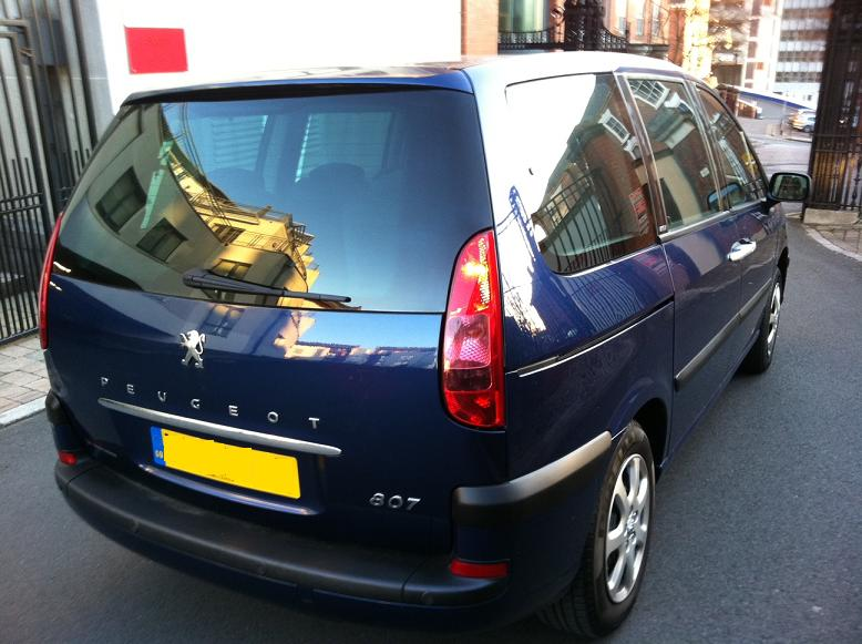 PEUGEOT 807 (12/2005) - Metallic Navy Blue - lieu: