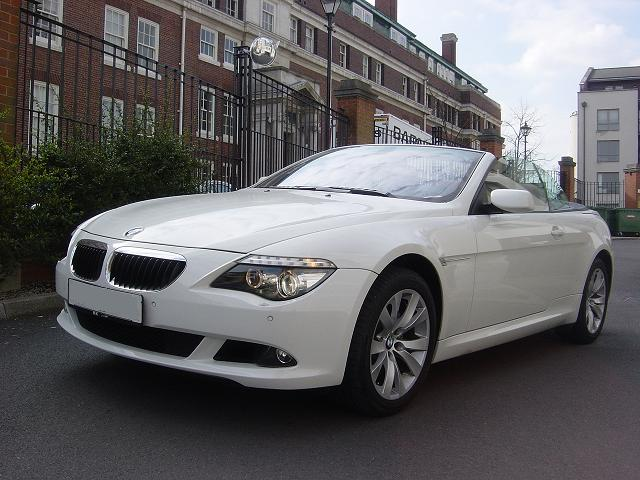 lhd BMW 6 SERIES (01/2009) - White - lieu: