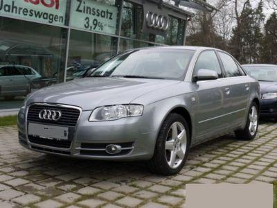 lhd AUDI A4 (03/2007) - Metallic Quartz Grey - lieu: