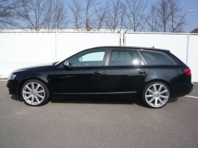 lhd car AUDI S6 (11/2008) - Brilliant Black - lieu: