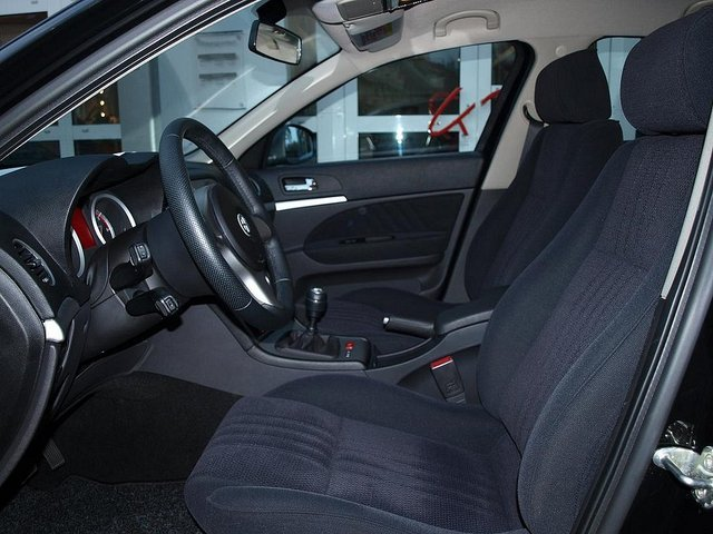 Left hand drive car ALFA ROMEO 159 (10/2009) - Black - lieu: