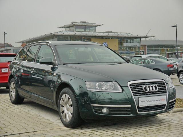 AUDI A6 (10/2007) - Metallic Deep Green - lieu: