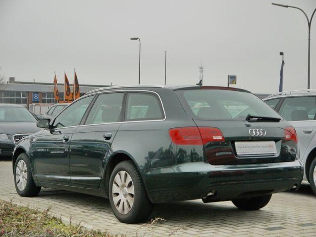 Lhd AUDI A6 (10/2007) - Metallic Deep Green - lieu: