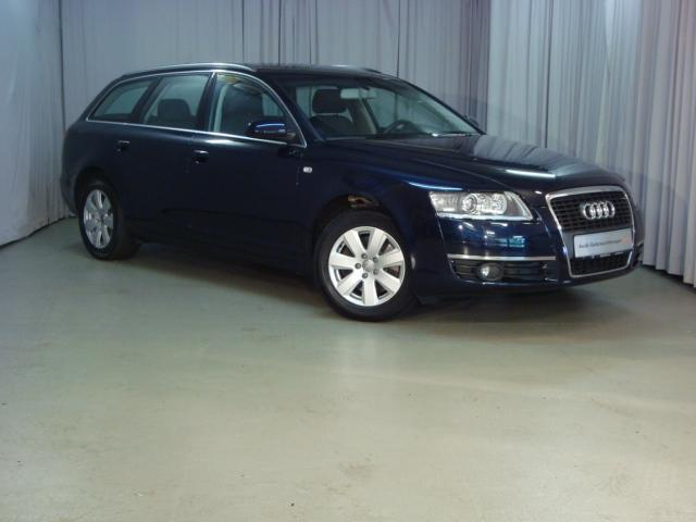Lhd AUDI A6 (06/2008) - Metallic Night Blue Pearl - lieu: