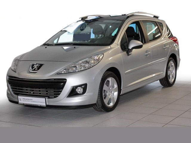 lhd peugeot 207 sw 05 2010 metallic chrono silver lieu. Black Bedroom Furniture Sets. Home Design Ideas