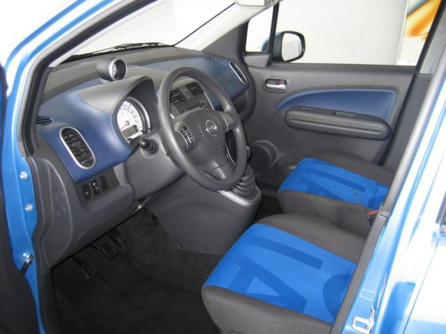 lhd opel agila 01 12 2009 morocco blue lieu. Black Bedroom Furniture Sets. Home Design Ideas