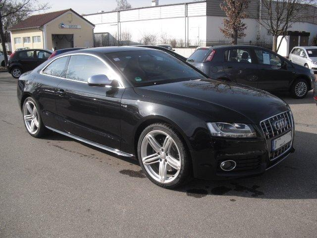 Lhd Audi S5 03 2010 Metallic Black Lieu
