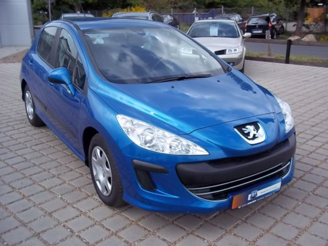lhd peugeot 308 02 2008 metallic blue lieu. Black Bedroom Furniture Sets. Home Design Ideas