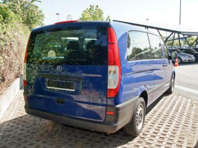lhd car MERCEDES VITO (01/2008) - Blue - lieu: