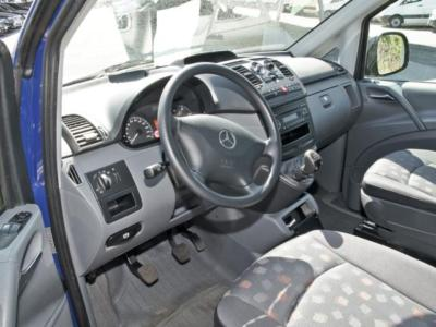 Left hand drive car MERCEDES VITO (01/2008) - Blue - lieu: