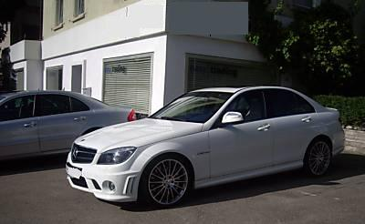 MERCEDES C CLASS C 63 AMG Performance Pack