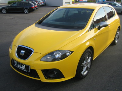 lhd seat leon 10 2008 yellow lieu. Black Bedroom Furniture Sets. Home Design Ideas