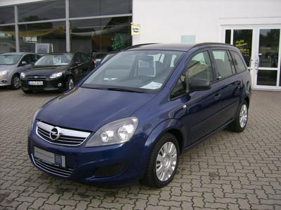 lhd opel zafira 12 2010 metallic ultra blue lieu. Black Bedroom Furniture Sets. Home Design Ideas