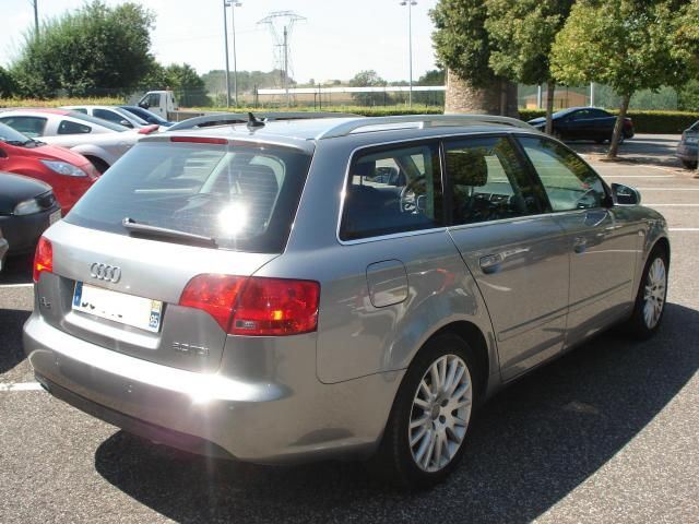 lhd car AUDI A4 (05/2007) - GREY - lieu: