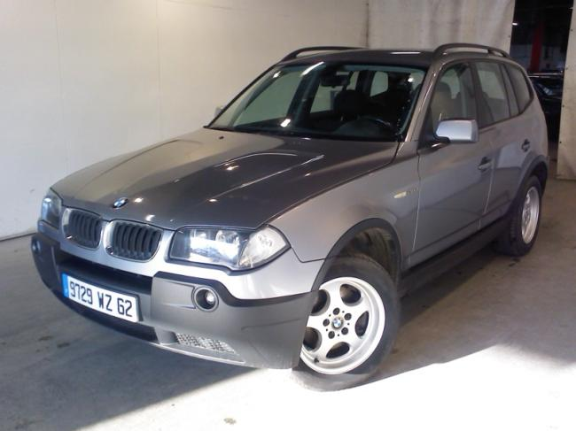 Left hand drive BMW X3 2.0D CONFORT FRENCH REG