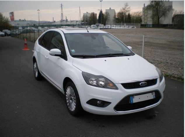 FORD FOCUS 2.0 TDCI 110 TITANIUM P.SHIFT DPF