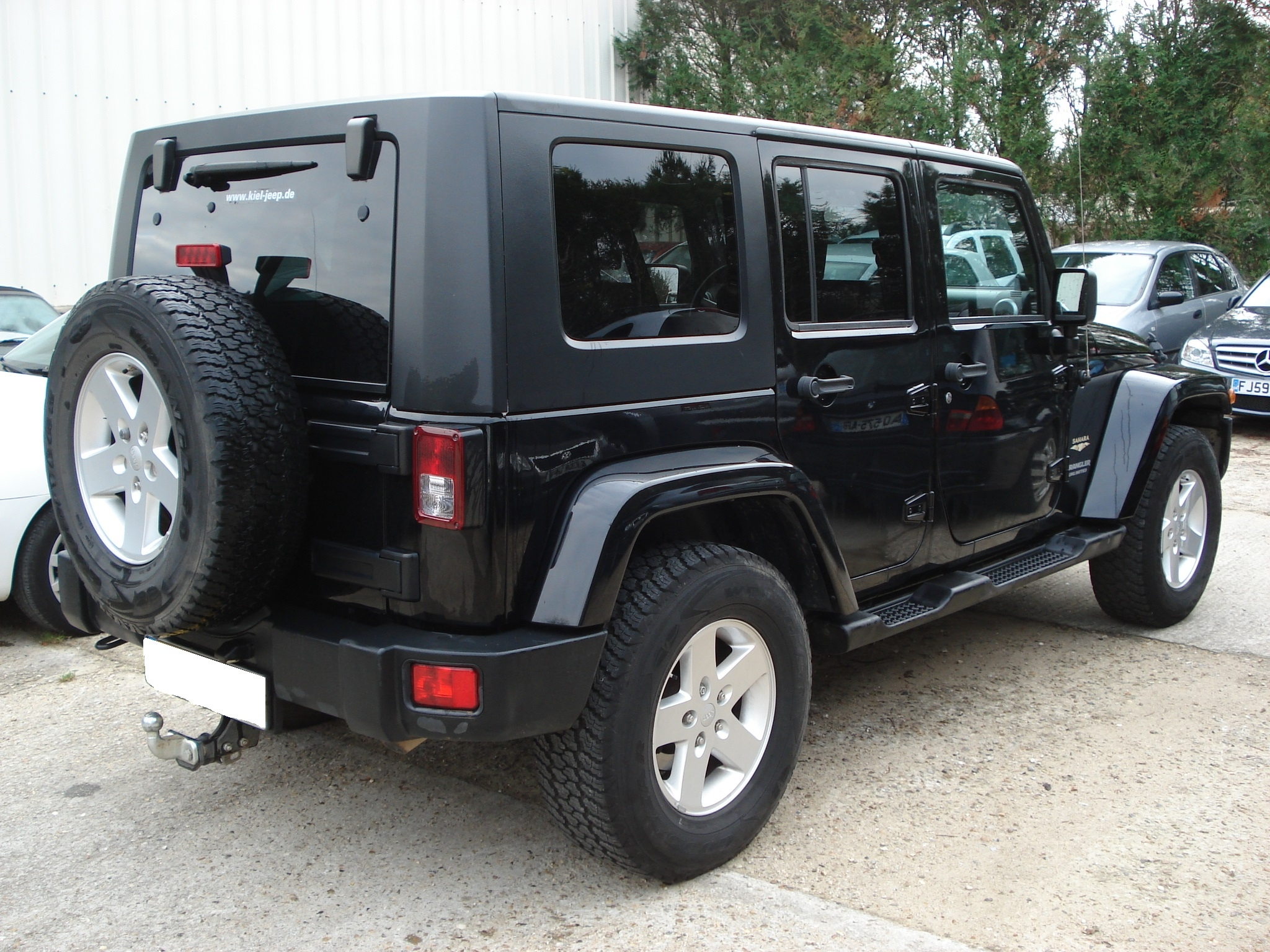 Jeep Wrangler 12 2010 Black Lieu