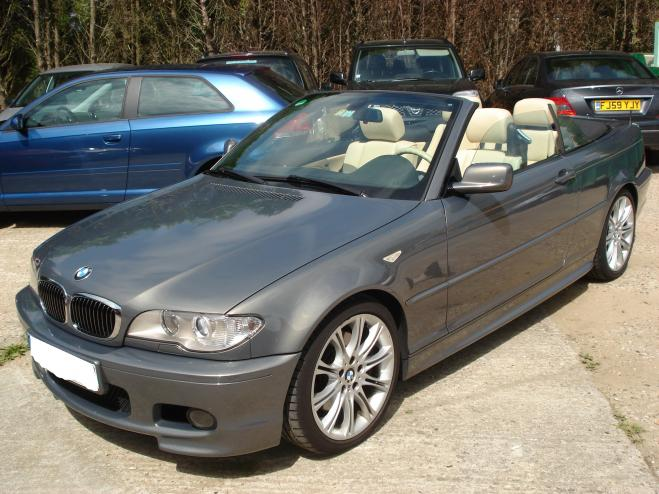 BMW 3 SERIES 330 D CABRIOLET M PACK