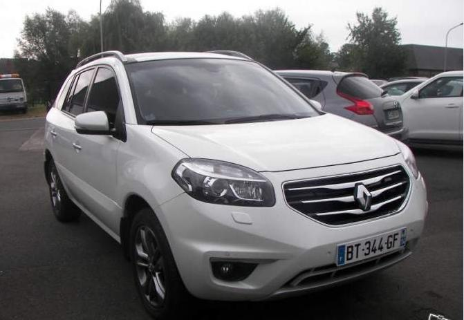 RENAULT KOLEOS Exception dCi150 4x4 auto French reg