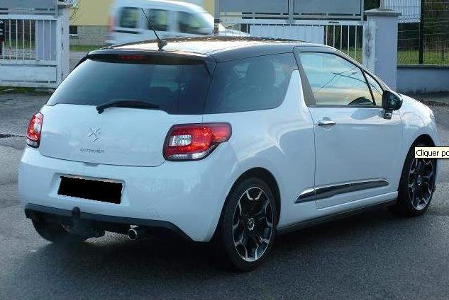 CITROEN DS3 (03/2010) - WHITE - lieu: