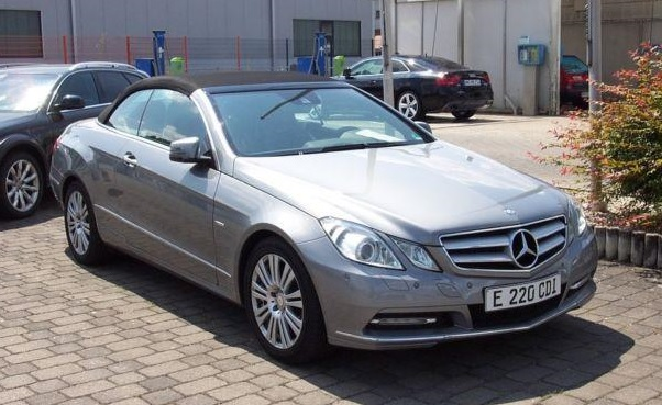 MERCEDES E CLASS E 220 CDI Blue Efficiency Convertible