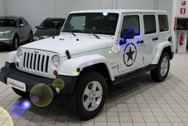 JEEP WRANGLER 2.8 CRD Unlimited Sahara