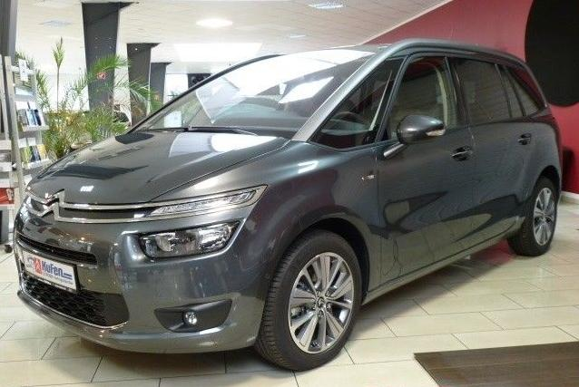 lhd citroen c4 grand picasso 01 2014 grey lieu. Black Bedroom Furniture Sets. Home Design Ideas