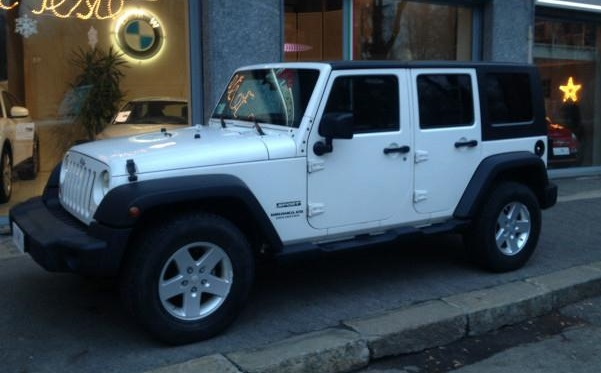 JEEP WRANGLER 2.8 CRD DPF Unlimited Sport