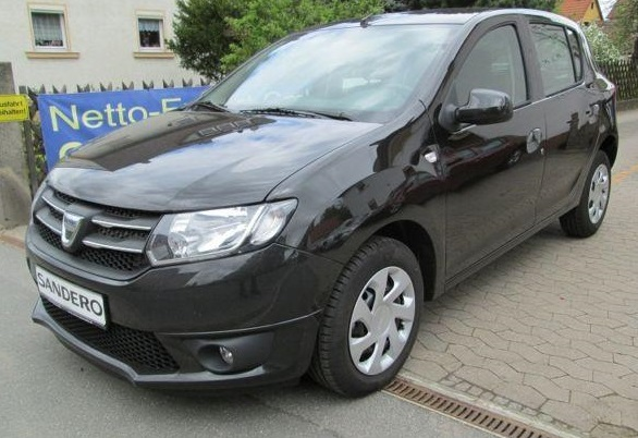 DACIA SANDERO 1.2 16V 75BHP Laureate NEW CAR