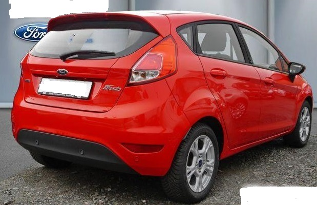 Left hand drive FORD FIESTA 1.0 Eco Boost Champions Edition 100bhp