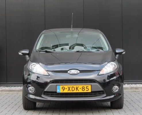 Left hand drive FORD FIESTA 1.4 Trend