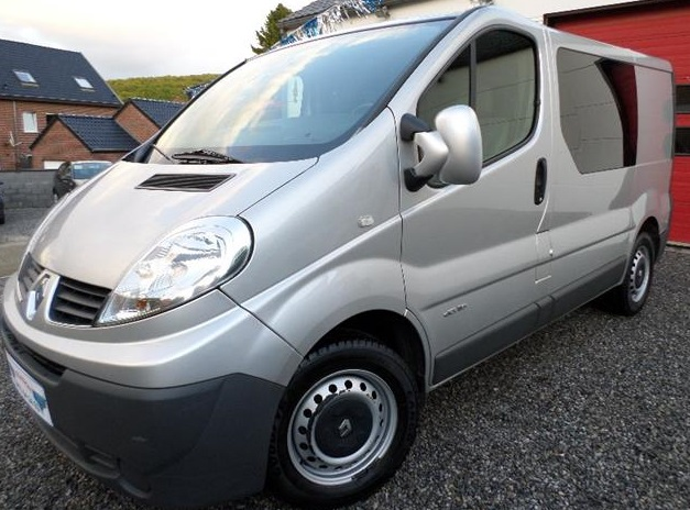 RENAULT TRAFIC 2.0 DCI 6 Seats