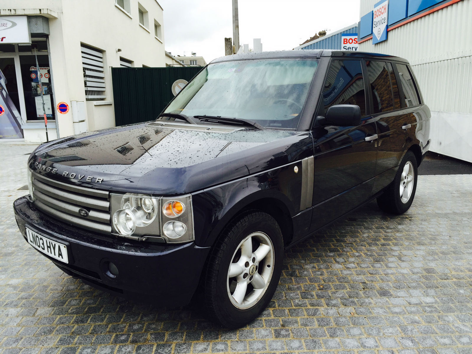 LANDROVER RANGE ROVER 3.0 TDV6 2003 Model Year UK REGISTERED