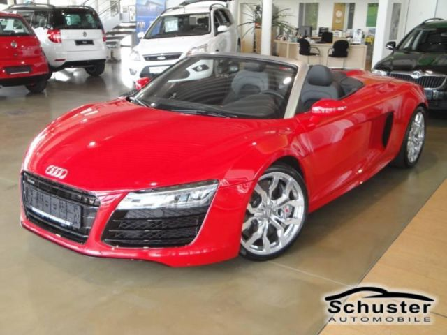 AUDI R8 5.2 QUATTRO SPYDER NEW MODEL