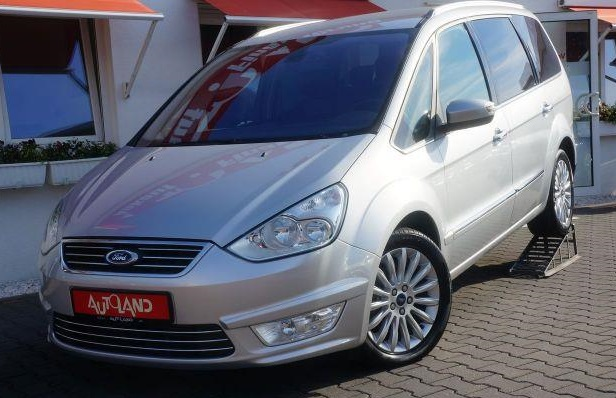 lhd FORD GALAXY (05/2012) - SILVER METALLIC - lieu: