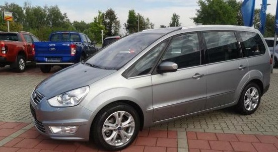 lhd FORD GALAXY (01/2014) - SILVER METALLIC - lieu: