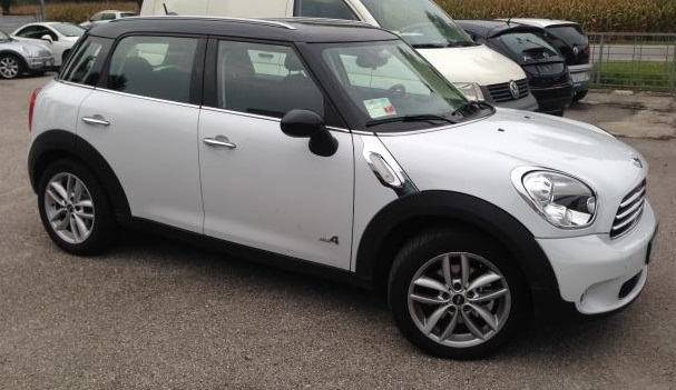 Lhd MINI COUNTRYMAN (12/2012) - WHITE - lieu: