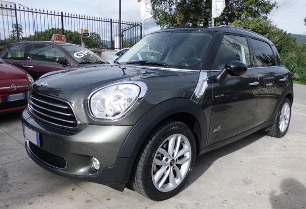 lhd MINI COUNTRYMAN (01/2013) - GREY - lieu: