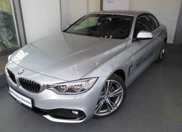 BMW 4 SERIES 428I CONVERTIBLE M SPORTPACK